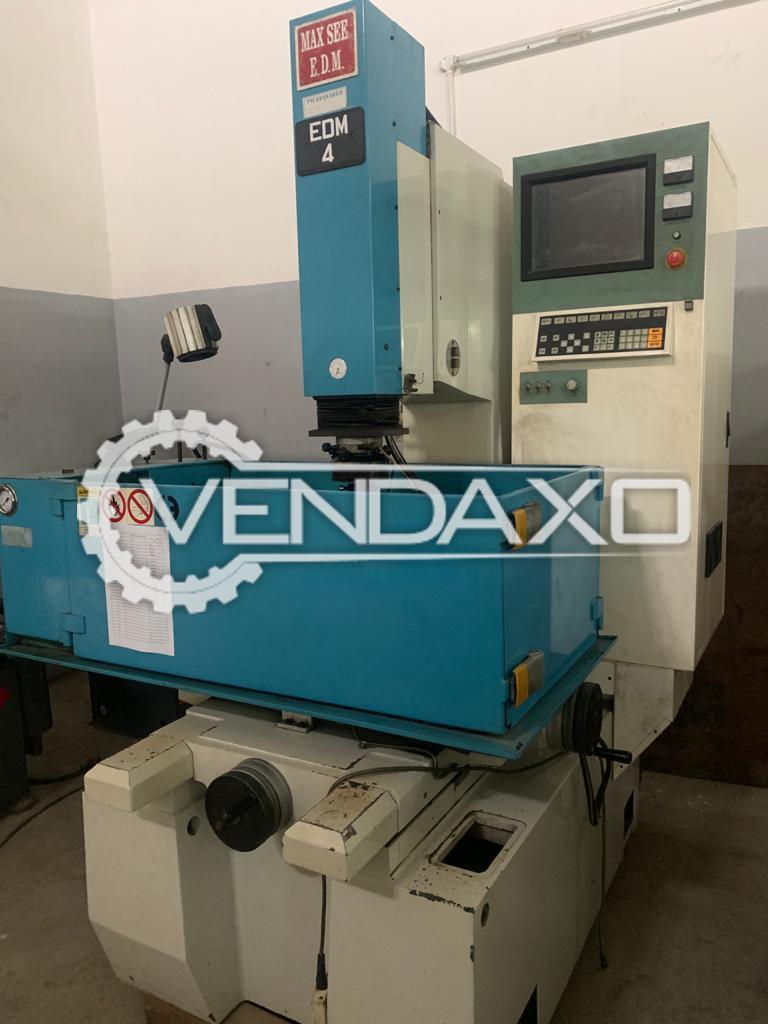 Maxsee ZNC CNC EDM Machine - Bed Size - 600 x 400 mm