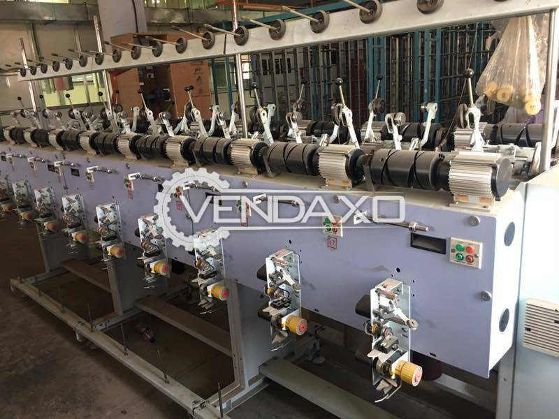 Peass Versa C Perfect Cone Winding/Rewinding Machine - 36 Spindle