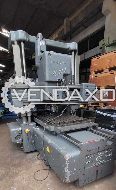 SIP Hydroptic-6 Jig Boring Machine - Table Size - 1100 x 842 mm