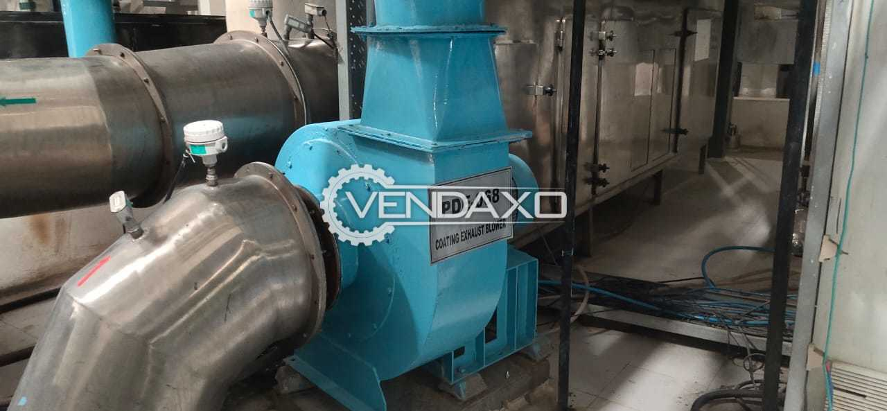 For Sale Used Blower, AHU With Heating Coil, Wet Scrubber, Panel Box