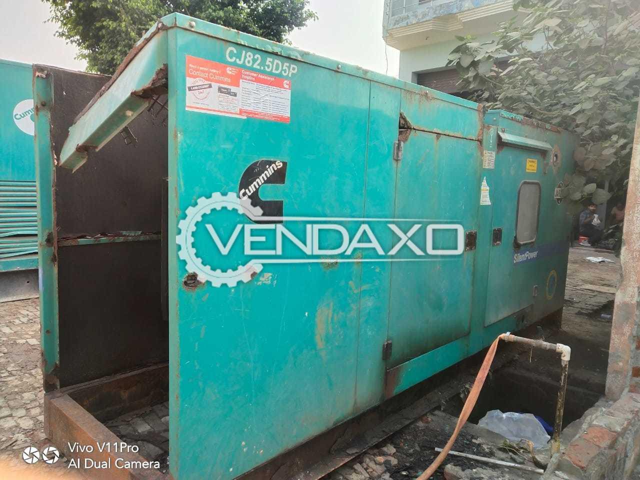 Cummins CJ82.5D5P Diesel Generator - 82.5 Kva