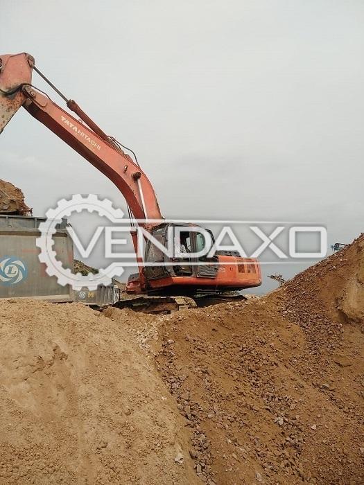 Tata Hitachi Zxis370 LCH Excavator - Motor - 250 HP, 2012 Model