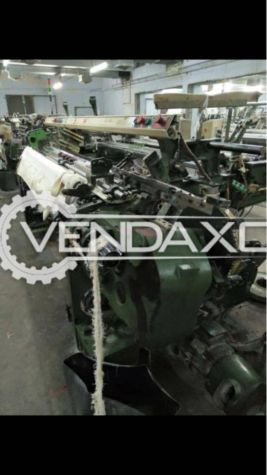 12 Set OF Picanol GTX Plus Rapier Loom Machine - Width - 190 CM