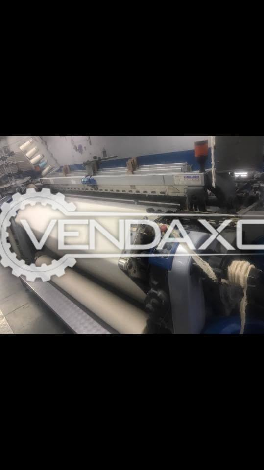 4 Set OF Vamatex Leonardo Silver Rapier Loom Machine - Width - 2100 mm