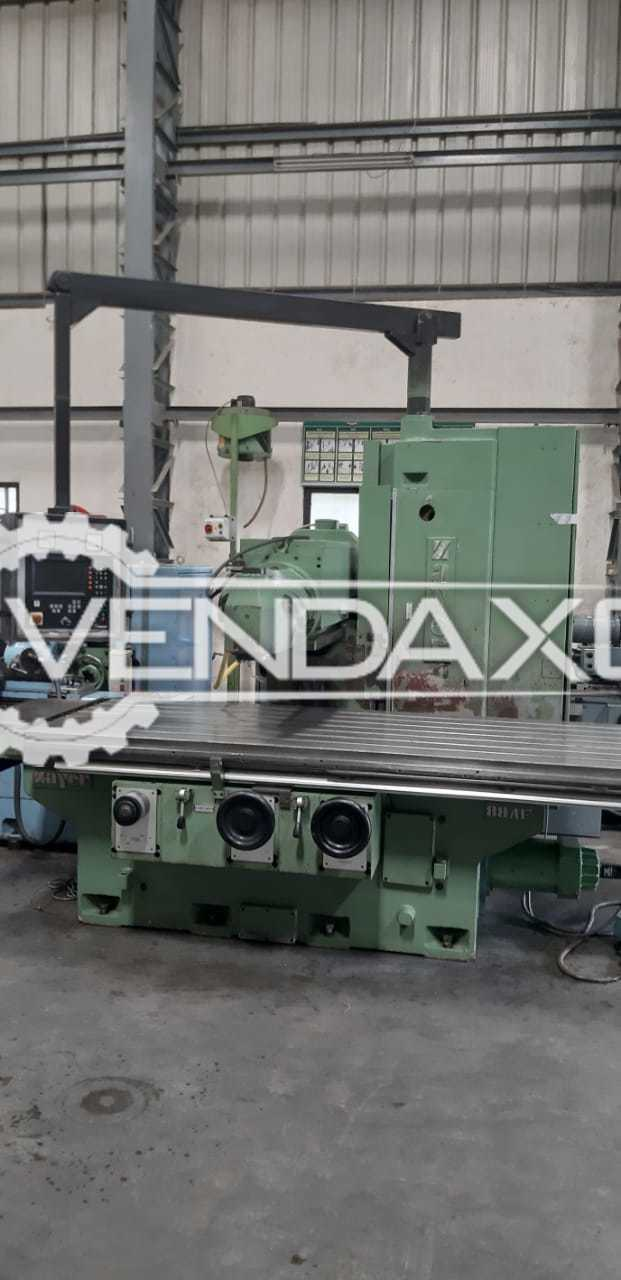 Zayer CNC Bed Milling Machine - Table Size - 2500 x 1000 mm