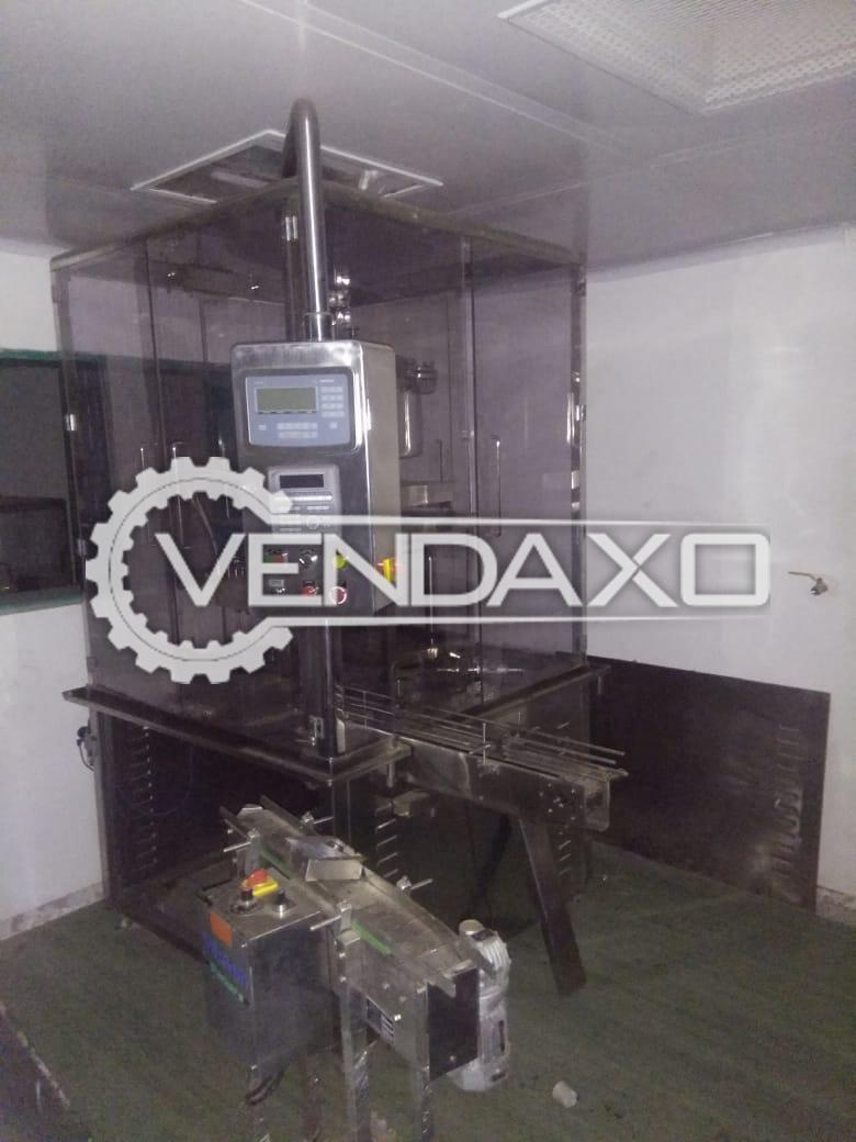 For Sale Complete Line OF Anchor Mask Liquid Filling Machine - 4 Head