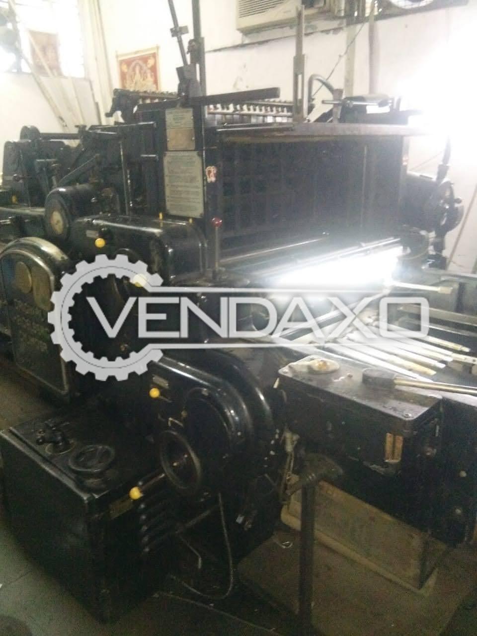 Heidelberg Cylinder Die Cutting Machine - Size - 22 x 28 Inch