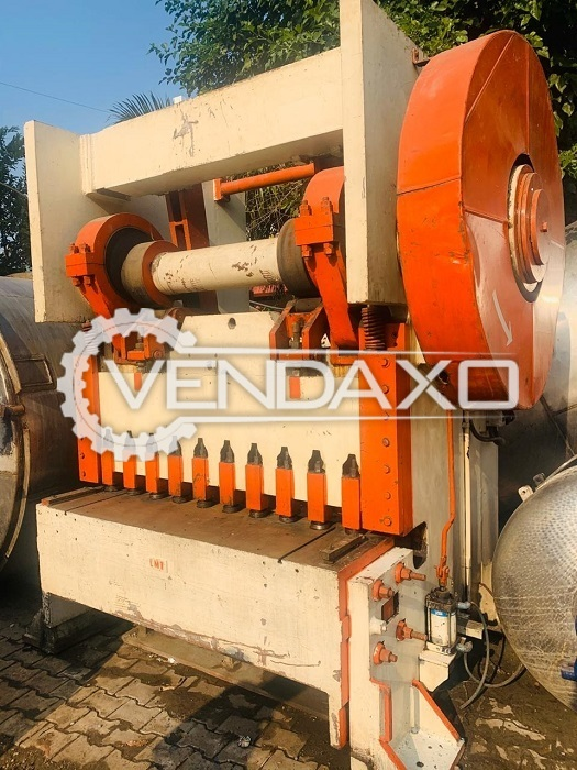 For Sale Coil Shearing Line - 8 mm With Straightener & Decoiler, Gear Box