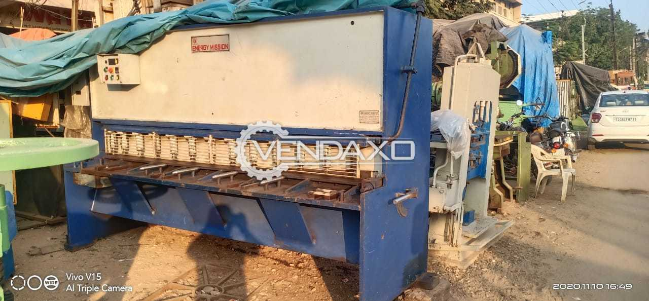 Energy Mission HVR 425 Hydraulic Shearing Machine - 8 Feet x 6 mm