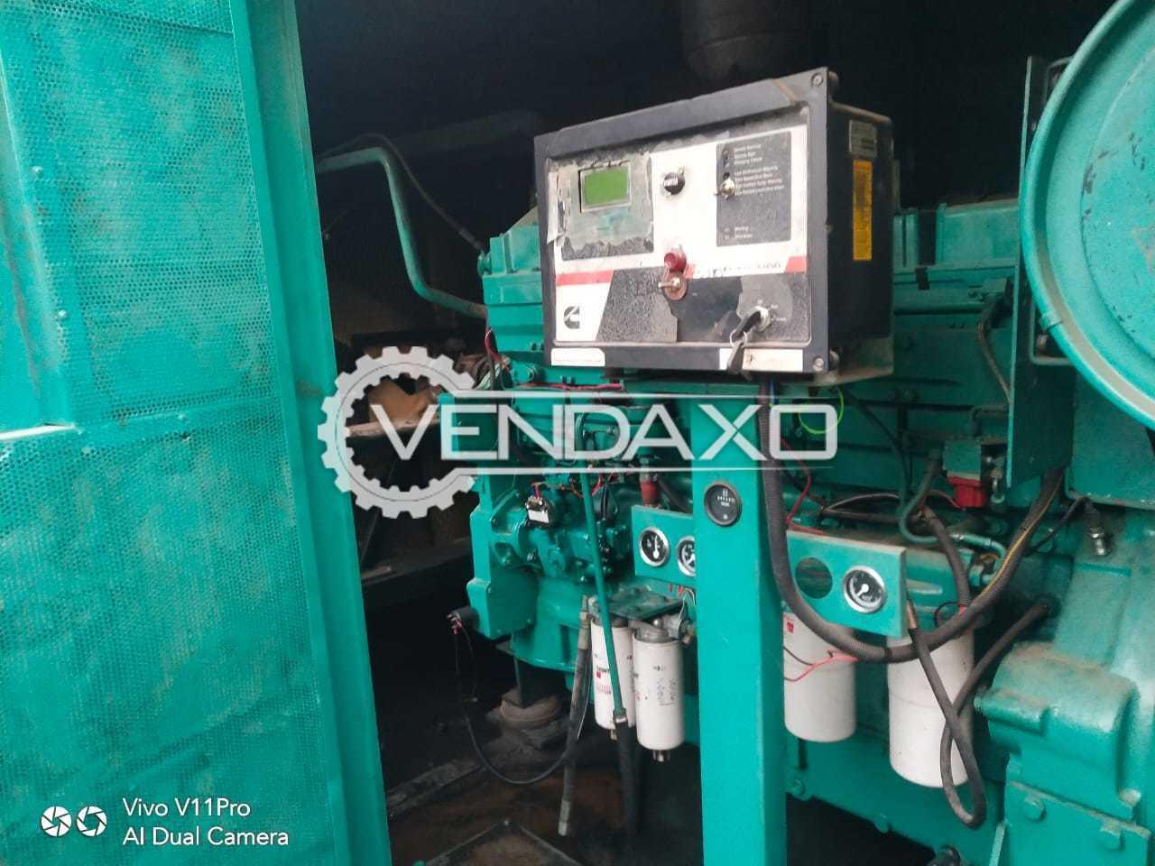 Cummins Powerica KTA-19 Diesel Generator - 500 Kva