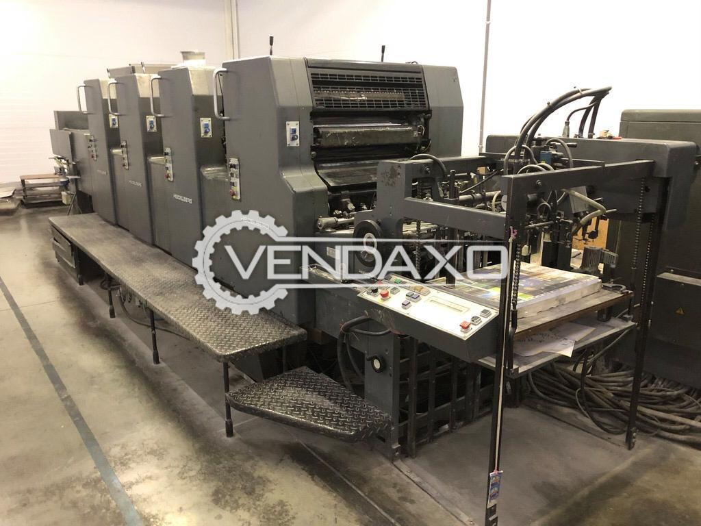Heidelberg MOVH Offset Printing Machine - 19 X 26 Inch, 4 Color