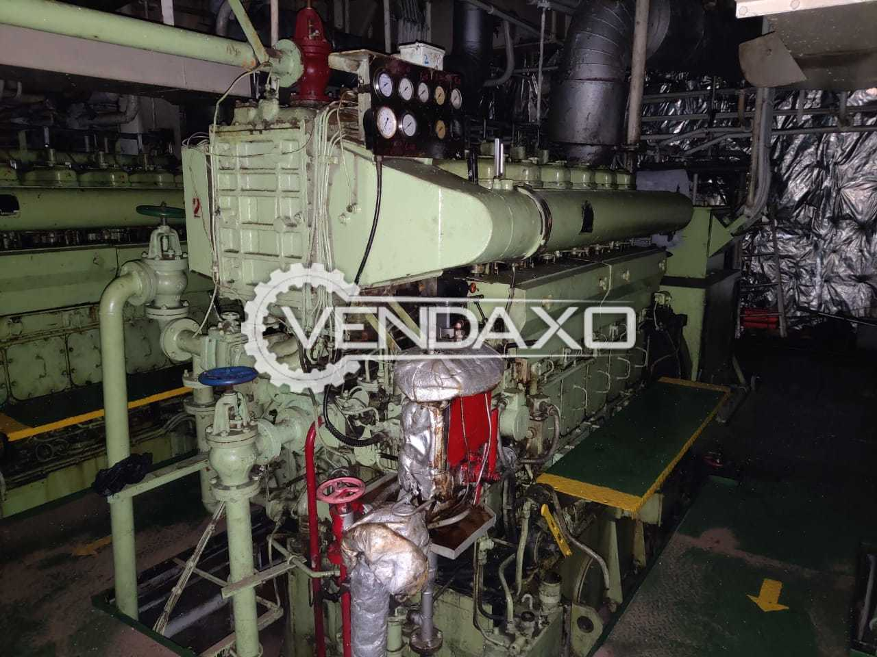 For Sale Used Yanmar AC Generator - 812.5 Kva