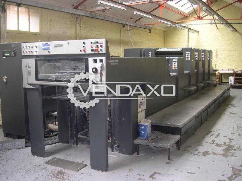 Heidelberg SM 74-4H+L Offset Printing Machine - 20 x 29 Inch, 4 Color
