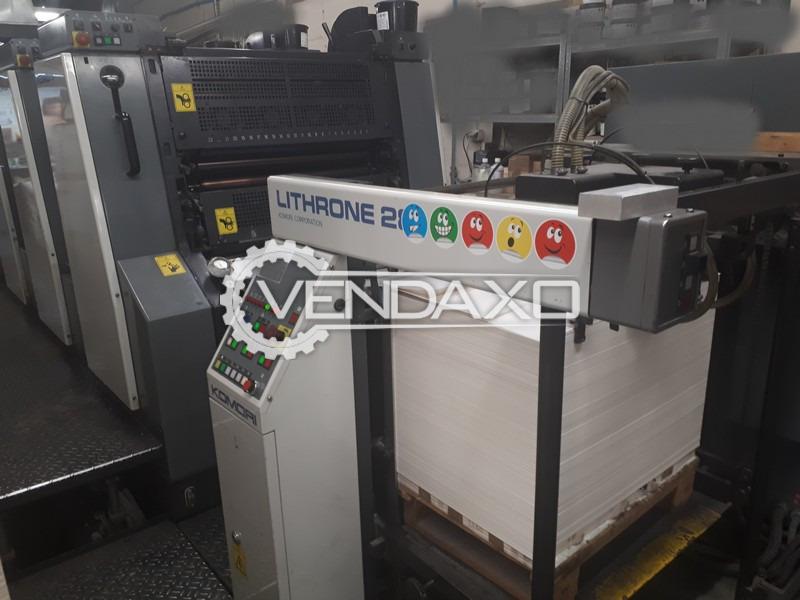 Komori Lithrone 428EH Offset Printing Machine - 52 X 72 CM, 4 Color