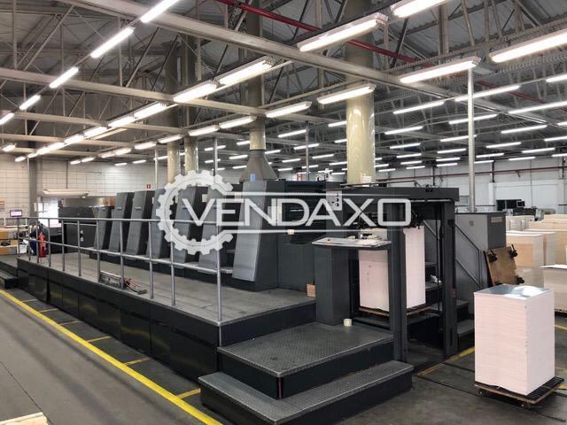 Heidelberg CD 74-6+LX-UV Offset Printing Machine - 23 x 29 Inch, 6 Color