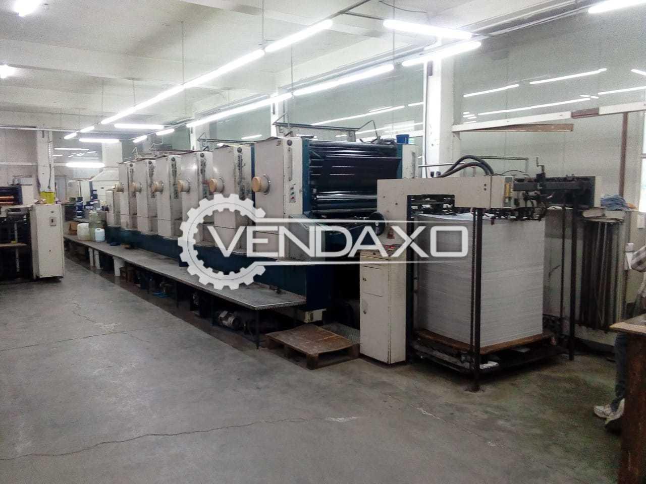 Komori Lithrone 640 Offset Printing Machine - 28 x 40 Inch, 6 Color