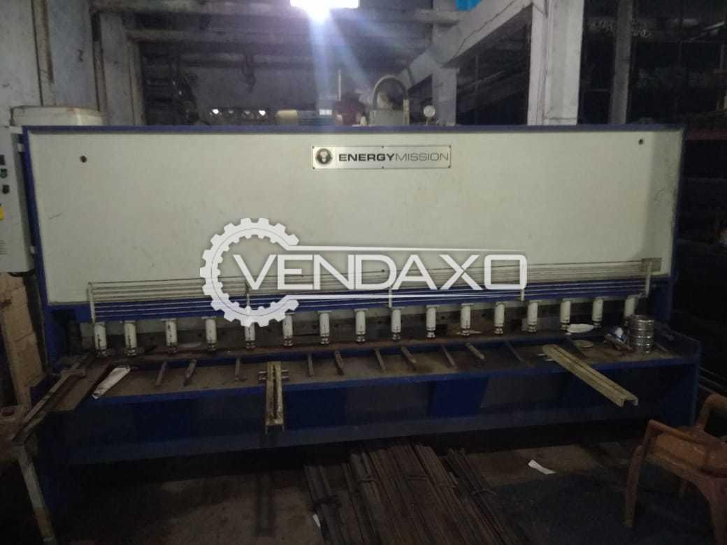 Energy Mission Hydraulic Shearing Machine - 3 Meter x 6 mm