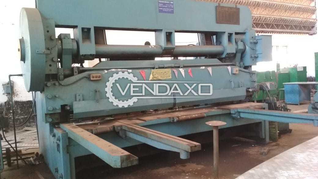 Simtools Mechanical With Pneumatic Clutch Shearing Machine - 3200 x 16 mm