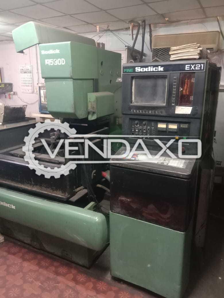 Sodick A530D CNC Wire EDM Machine - 400 x 300 x 250 mm