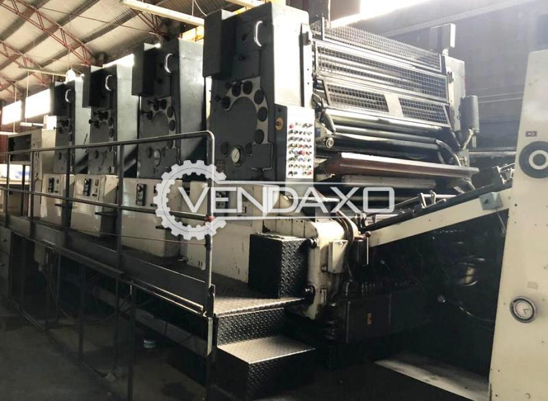 Man Roland Ultraman 7AGS Offset Printing Machine - 120 x 160 CM, 4 Color