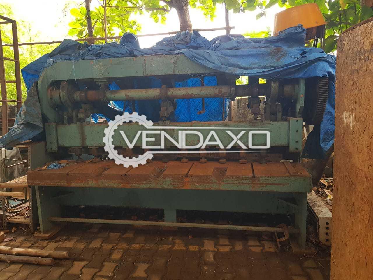 Ganesh Mechanical Shearing Machine - 2500 x 6 mm