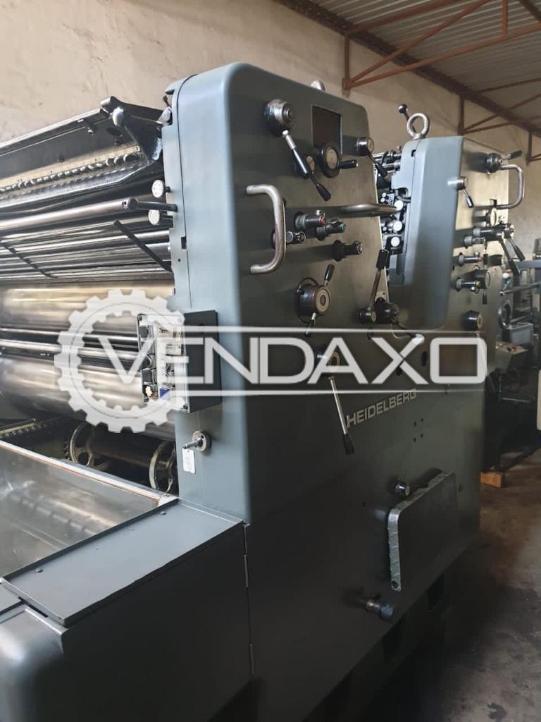 Heidelberg SORSZ Offset Printing Machine - 28 x 40 Inch, 2 Color