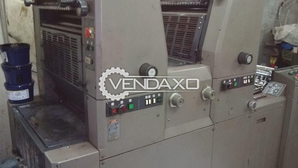 Ryobi 3302 Offset Printing Machine - 13 x 18 Inch, 2 Color