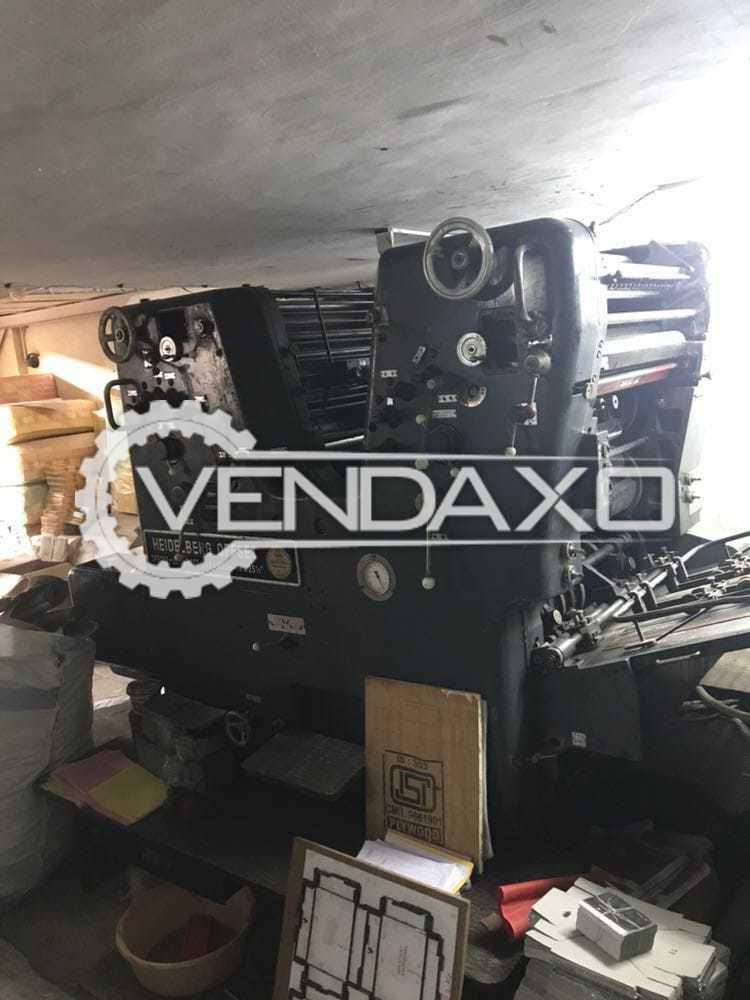Heidelberg SORK Offset Printing Machine - 19 x 25 Inch, 2 Color