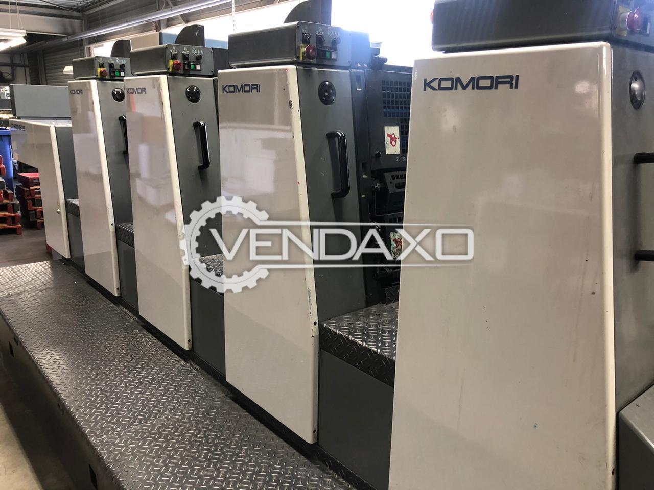 Komori Lithrone 426 EM Offset Printing Machine - Size - 20 x 26 Inch, 4 Color