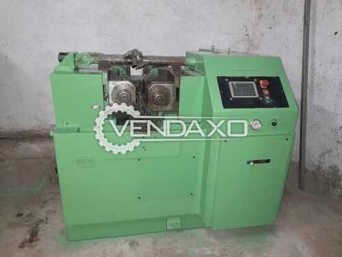 WMW UPW 31.5 Heavy Duty Thread Roller Machine - 31.5 Ton