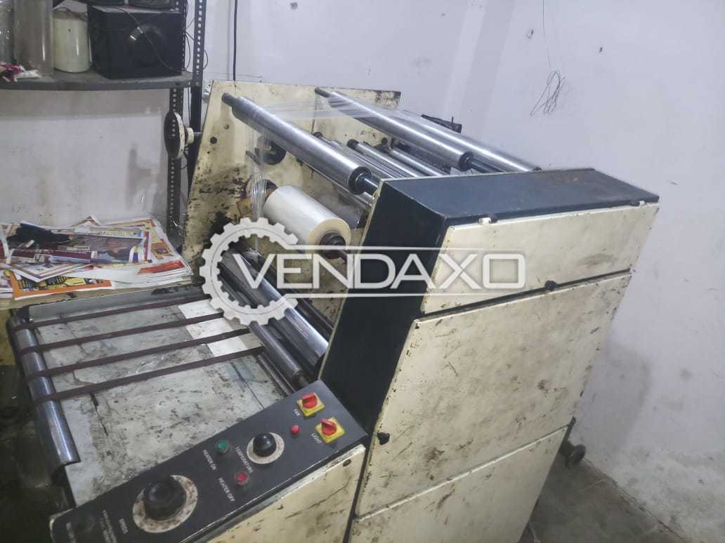 For Sale Used Thermal & Cold Laminator Machine - Size - 26 Inch