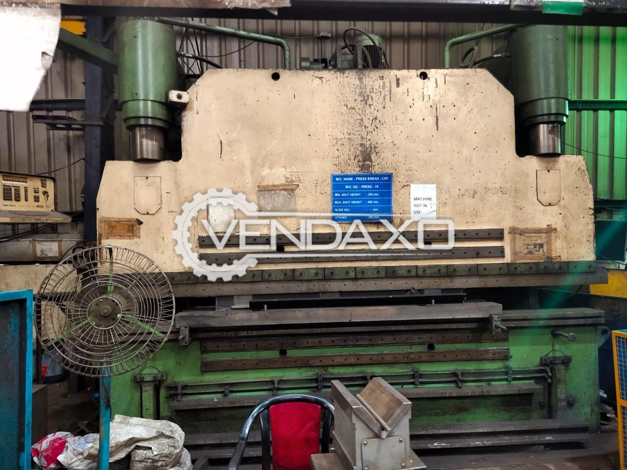 LVD PPNMZ 300/40 Press Brake Machine - 300 Ton x 4000 mm