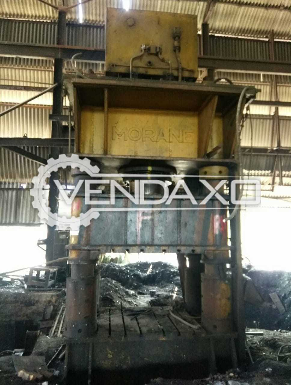 For Sale Used Morane Hydraulic Press - 800 Ton