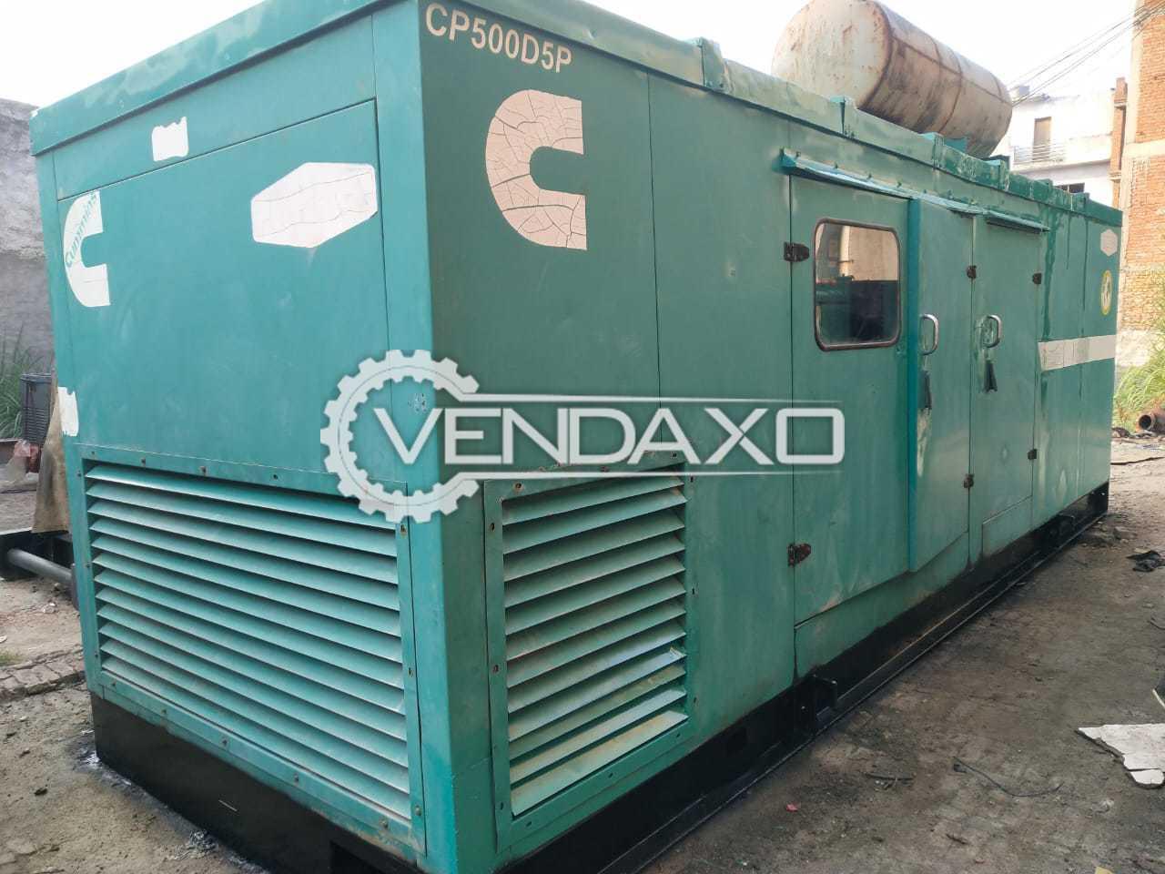 Cummins KTA-19-69 Diesel Generator - 500 Kva