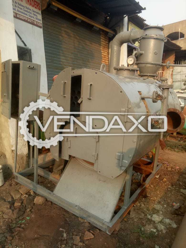 For Sale Used Wood Fire Non IBR Steam Boiler- 600 KG