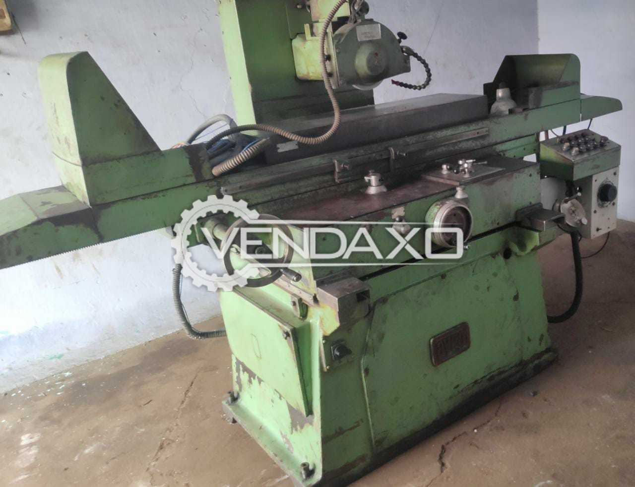AVRO Hydraulic Surface Grinder Machine - Table size - 1000 x 300 mm