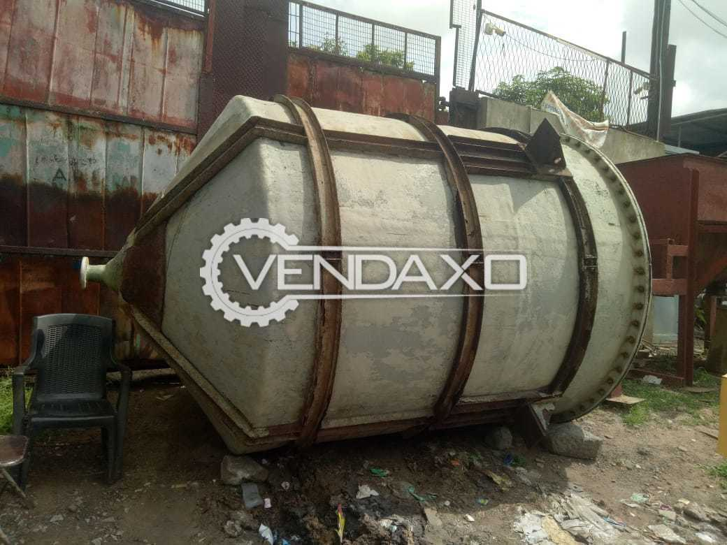 For Sale Used PP FRP Vessels - 10 KL