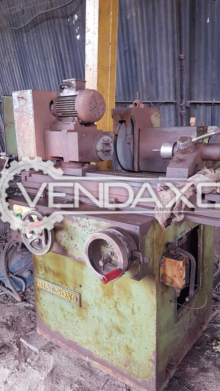 Riatsons Cylindrical Grinding Machine - Between Center - 500 mm