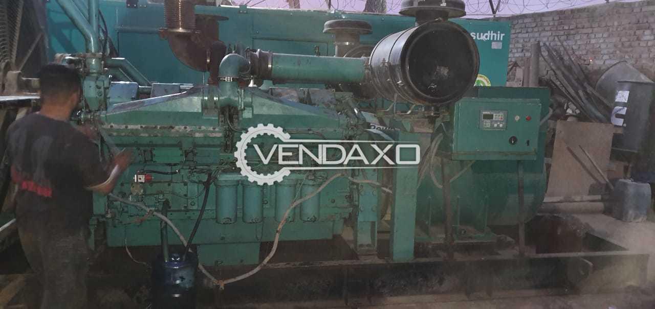 Cummins Sudhir Diesel Generator - 1010 Kva, 2007 Model