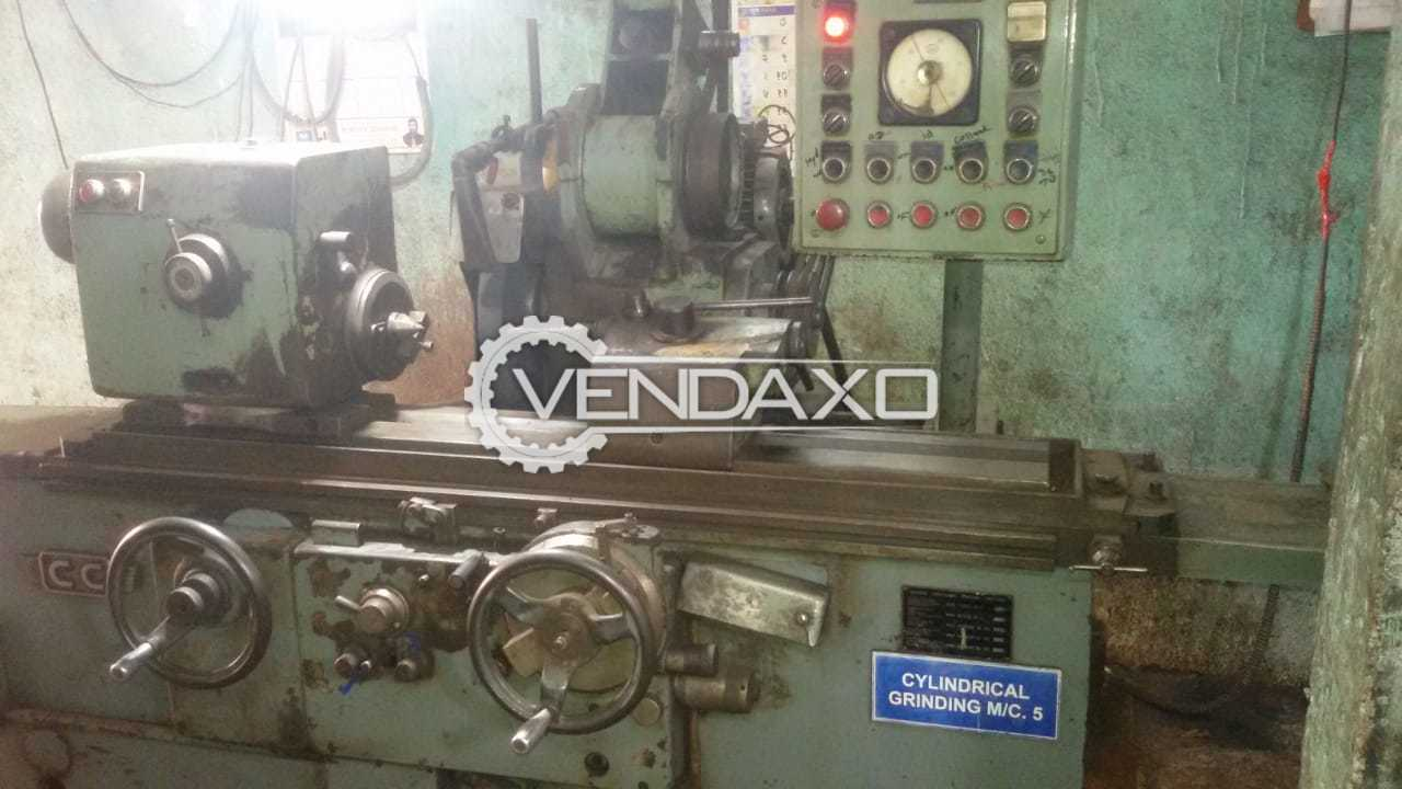 For Sale Used Hydraulic Cylindrical Grinding Machine - 1000 x 150 mm