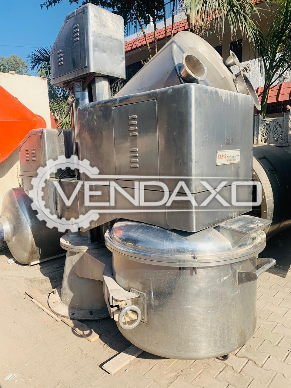 Sams Planetary Mixer - 250 Kg