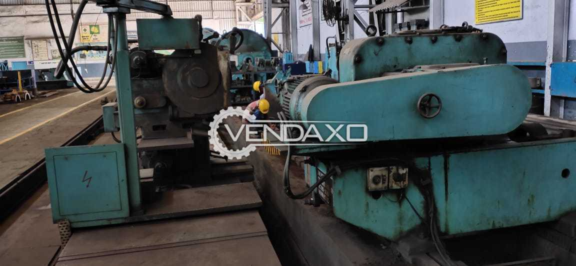 For Sale Used Roll Grinding Machine - 8 Meter x 2000 mm