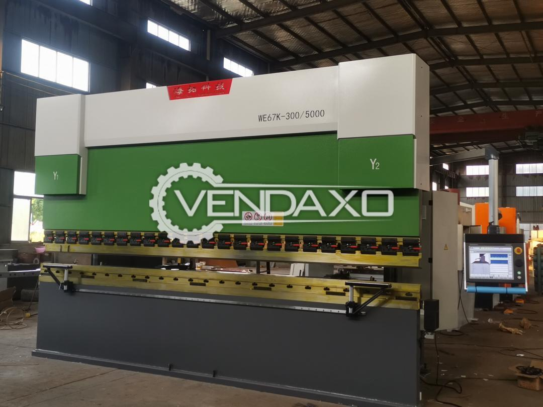 China Make WE67K-300/5000 Press Brake Machine - 300 Ton x 5000 mm