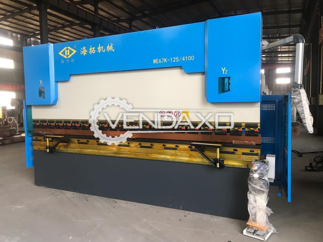 China Make WE67K-125/4100 Press Brake Machine - 125 Ton x 4100 mm