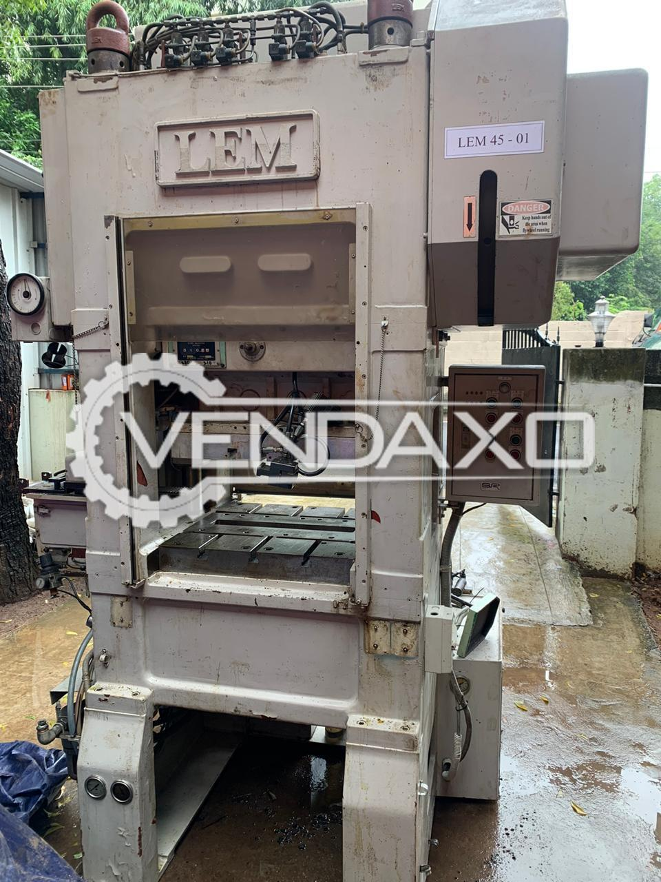 For Sale Used LEM High Speed Power Press - 45 Ton