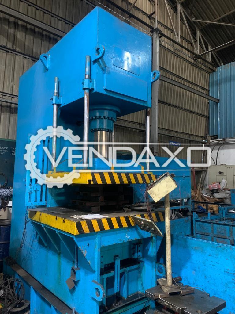 For Sale Used Hydraulic High Speed Power Press - 100 Ton With Die Cushion