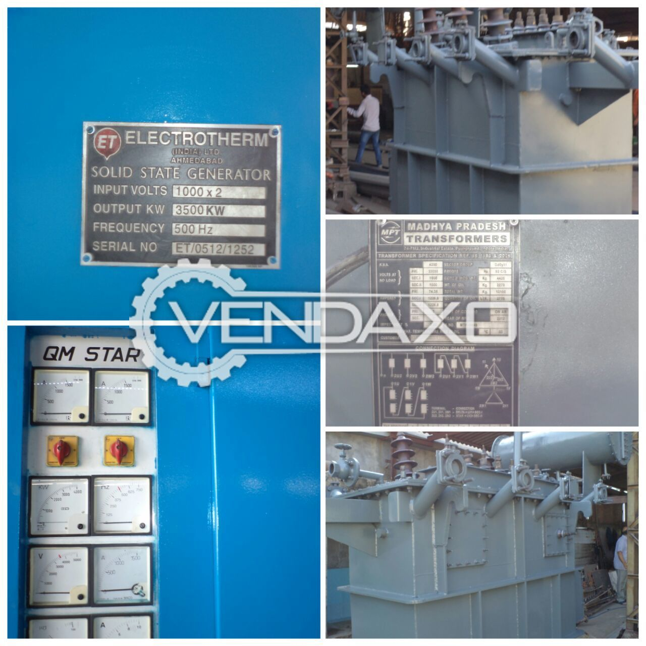 Used Electrotherm Induction Furnace | Second Hand Other Furnaces for ...