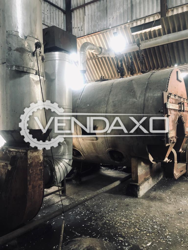 Available For Sale Used Boiler Division