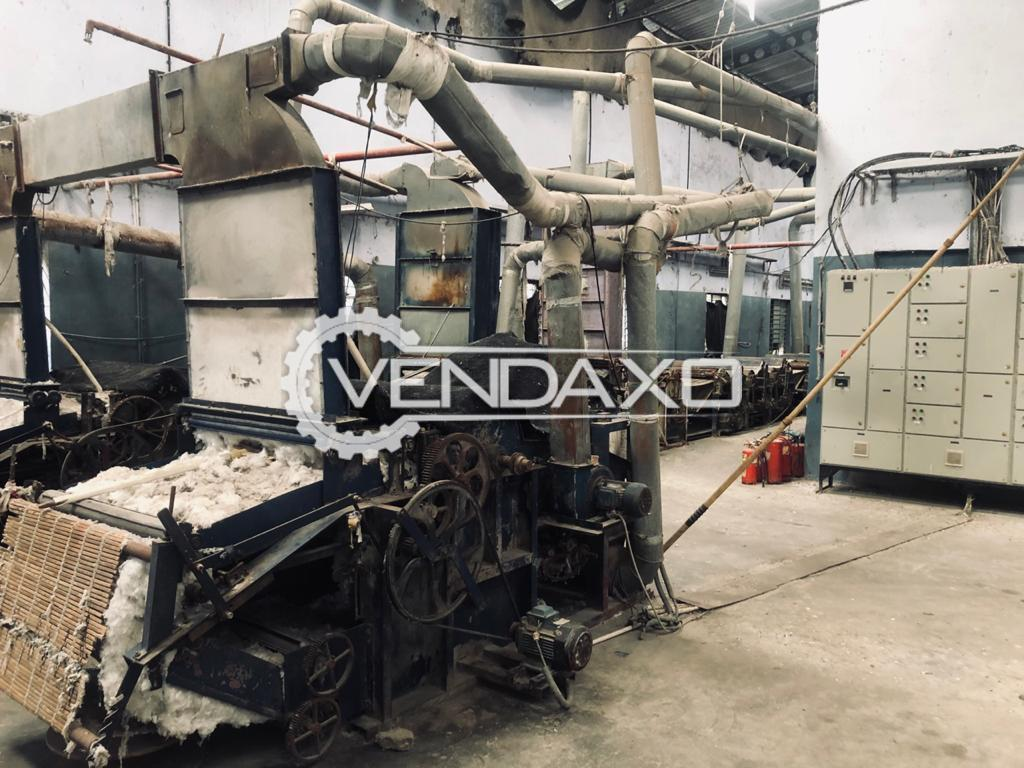 Available For Sale Used Fiber Open Machine
