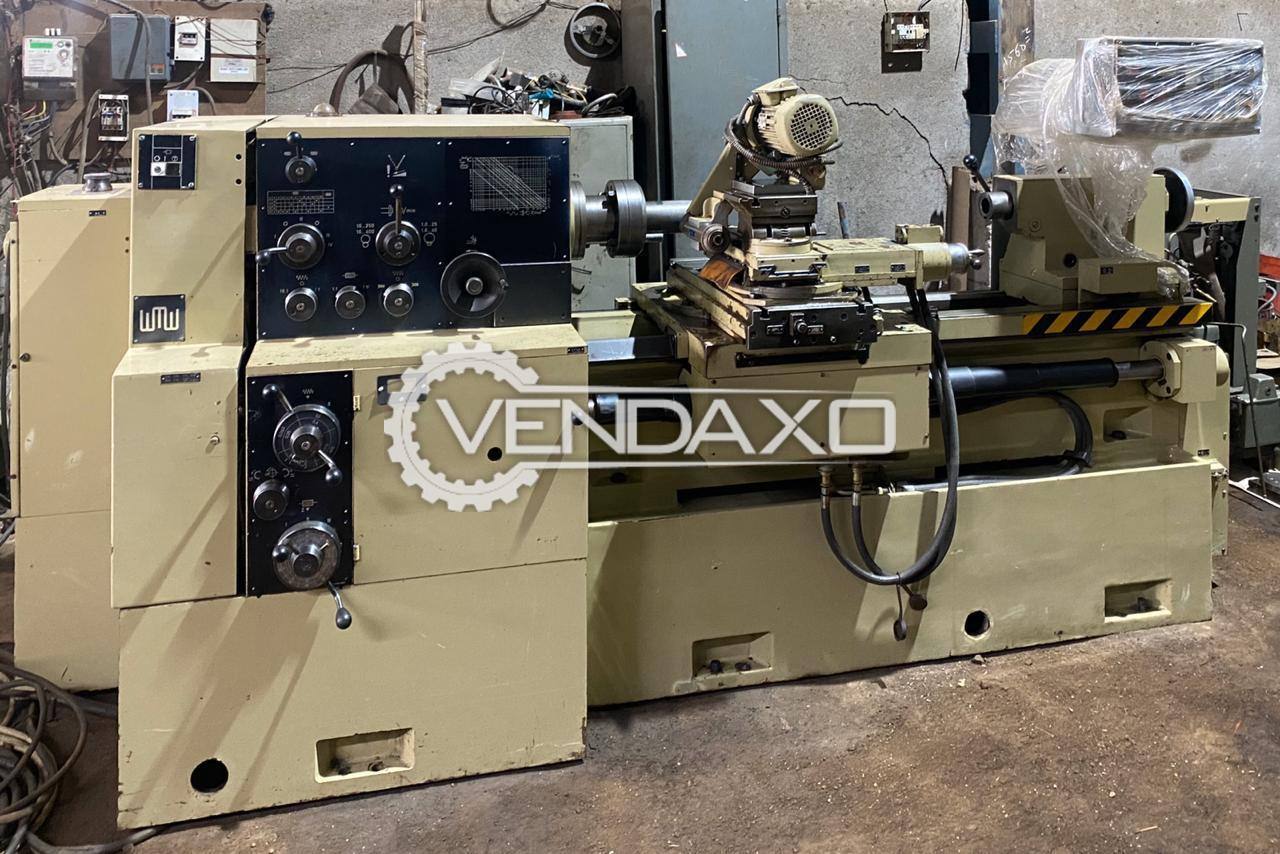 WMW DH 250 Relieving Lathe Machine - Max Turning Length - 630 mm